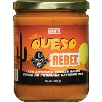 Handmade Cheesy Queso Sauce with a Rich and Creamy Blend of Tangy Tomatoes and Smoky Chipotle by Aubrey D. Get Your Cheesy Grin!