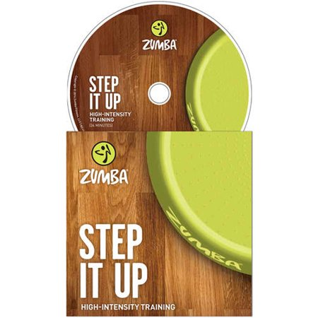 "Zumba Fitness ""Step It Up"" DVD ~ 34 Minutes"