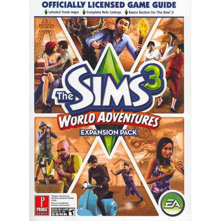 the sims 3 world adventure prima official game guide. Black Bedroom Furniture Sets. Home Design Ideas