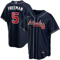 Freddie Freeman Atlanta Braves Nike Youth Alternate 2020 Replica Player Jersey - Navy