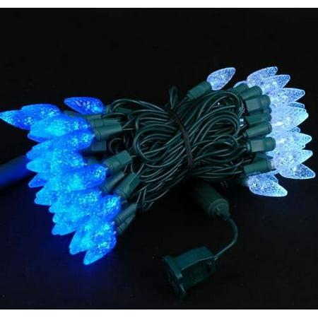 70 Light C6 LED Christmas Mini Light Set, Commercial Grade ...