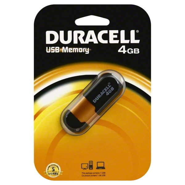 DURACELL 4GB FLASH DRIVE DRIVER FOR MAC DOWNLOAD
