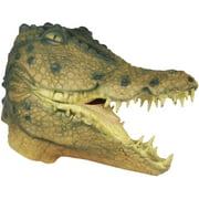 Loftus Halloween Crocodile Costume Full Head Mask, Green Yellow, One Size