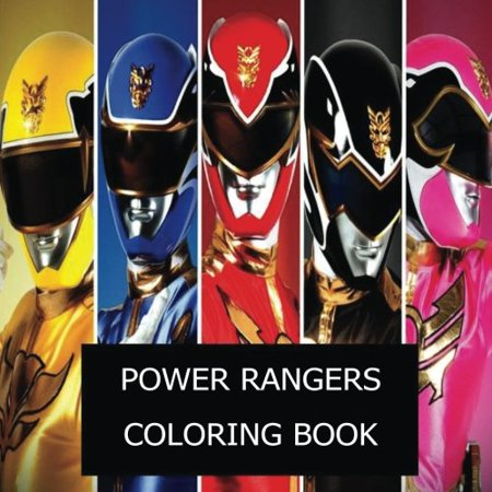Power Ranger Coloring Pages (Power Rangers Coloring Book: The Best Power Rangers coloring book of 2017)