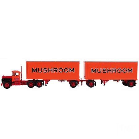 Mack R Model Truck Mushroom With Dual 28