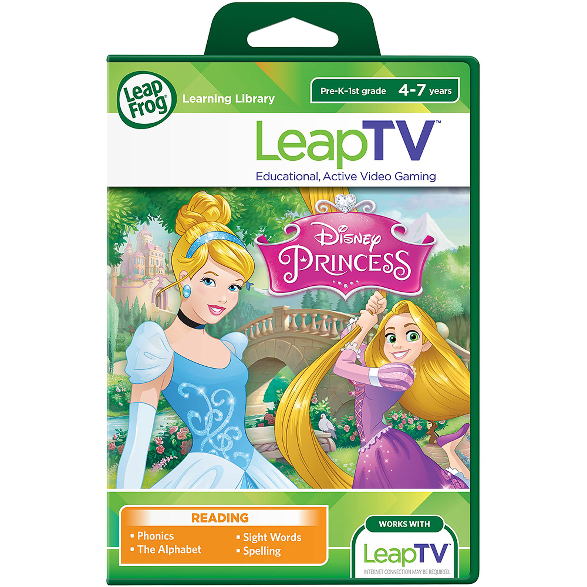 LeapFrog LeapTV: Disney Princess Educational, Active Video Game