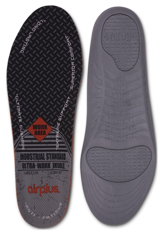 f0244a6620700 Airplus Men's Ultra Work Memory Plus Insole Men's 7-13 - Walmart.com