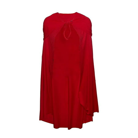 Storybook Little Red Riding Hood Adult Costume Cape Accessory, One - Red Riding Hood Costume Cape