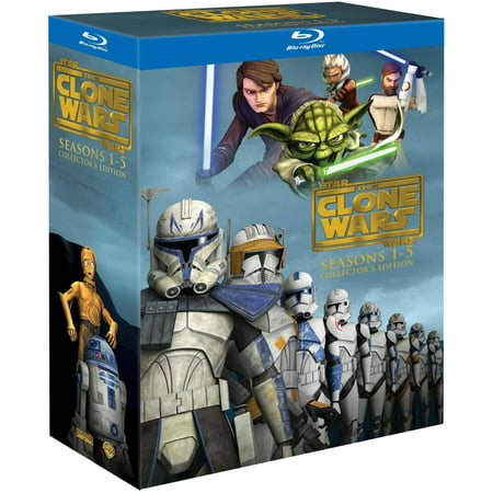 Star Wars: The Clone Wars: Seasons 1-5 Collector's Edition (Blu-ray)