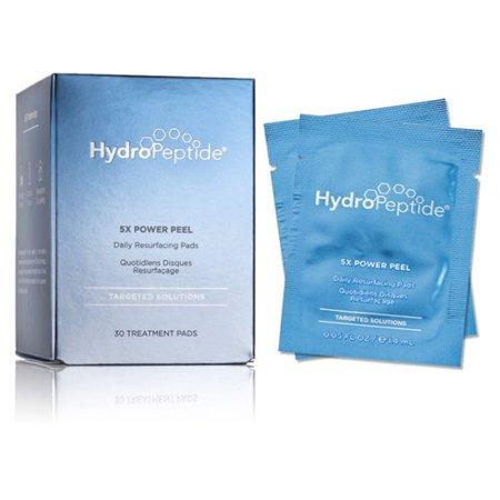Power Peel (Hydropeptide 5X Power Peel Daily Resurfacing Pads 0.05 oz / 14 ml 30ct)