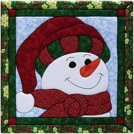 Snowman Quilt Magic Kit Benartex Quilt Kits