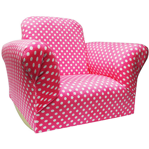 Harmony Kids 01070 Standard Rocker Hot Pink Dot