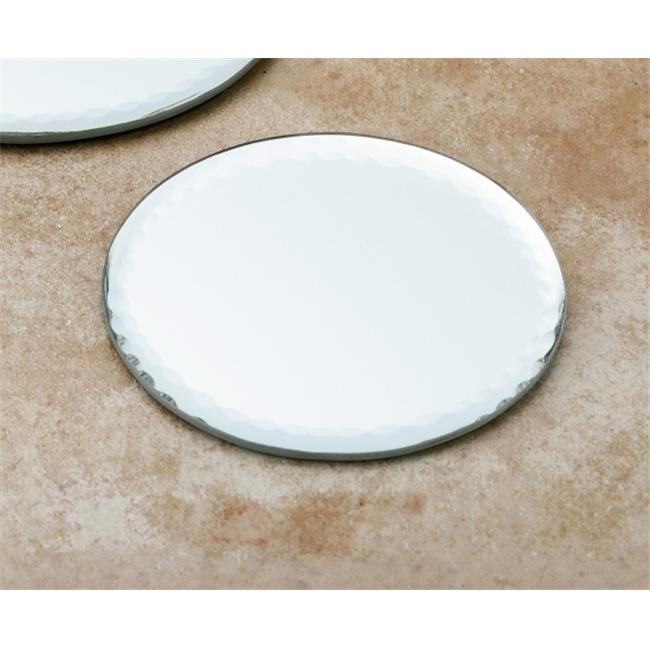 Biedermann & Sons H377SM Glass Round Mirror Plate - Small