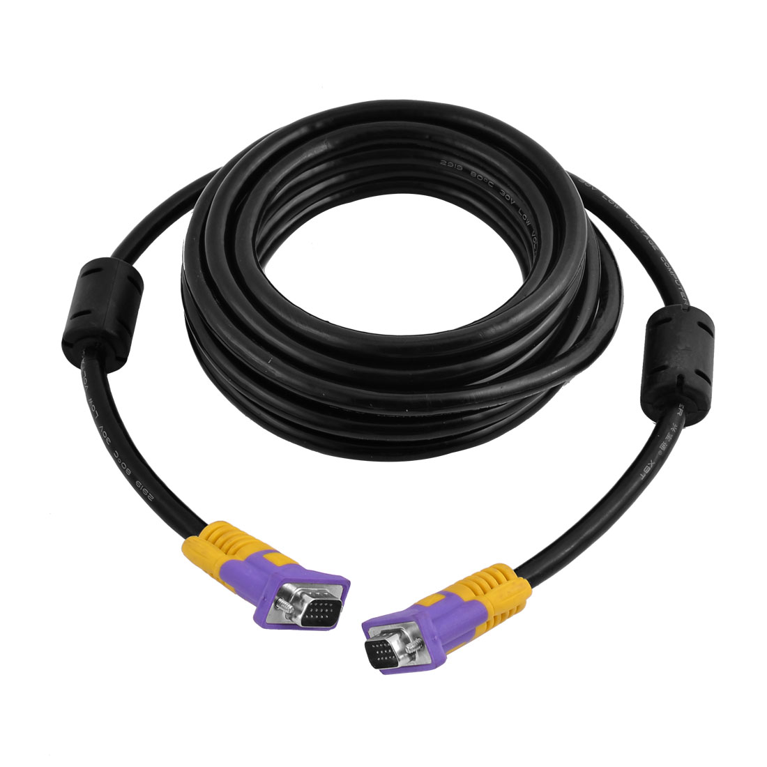 10Ft HD 15pin Male to Male M/M VGA Monitor Extension Cable Cord