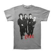 Cure Men's  Group T-shirt Grey