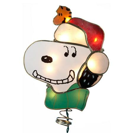 Kurt Adler 9 in. Snoopy Lighted Tree Topper