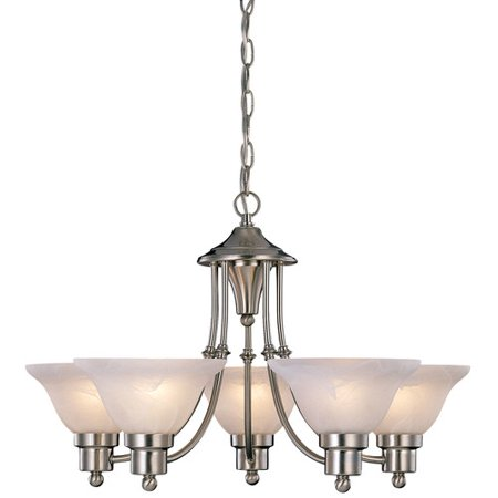Five Light Chandelier Canopy (54-4452 5 Light Bristol Chandelier )