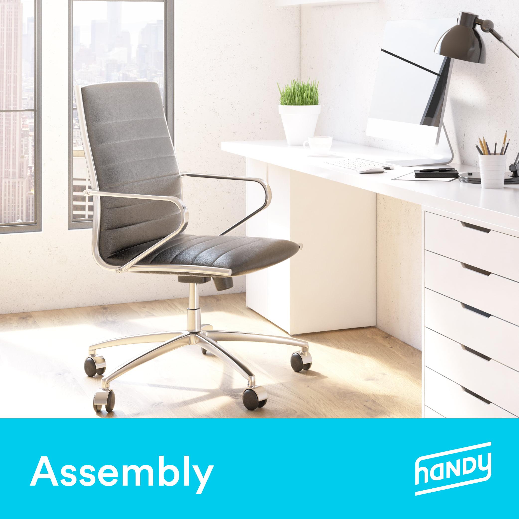 Office Chair Assembly By Handy Walmart Com Walmart Com