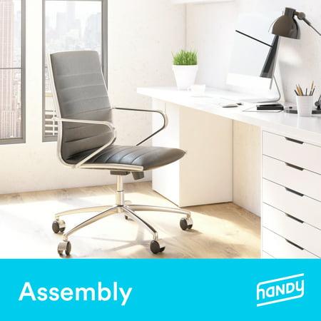 Swell Office Chair Assembly By Handy Walmart Com Beatyapartments Chair Design Images Beatyapartmentscom