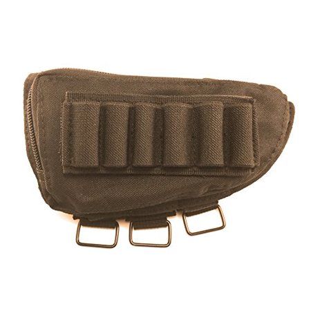 Acme Approved Shotgun Buttstock Cheek Rest Ammo Pouch (Black) thumbnail