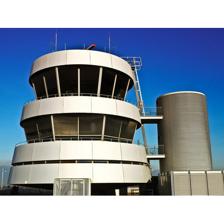 LAMINATED POSTER Air Traffic Control Flight Control Tower Security Poster Print 24 x