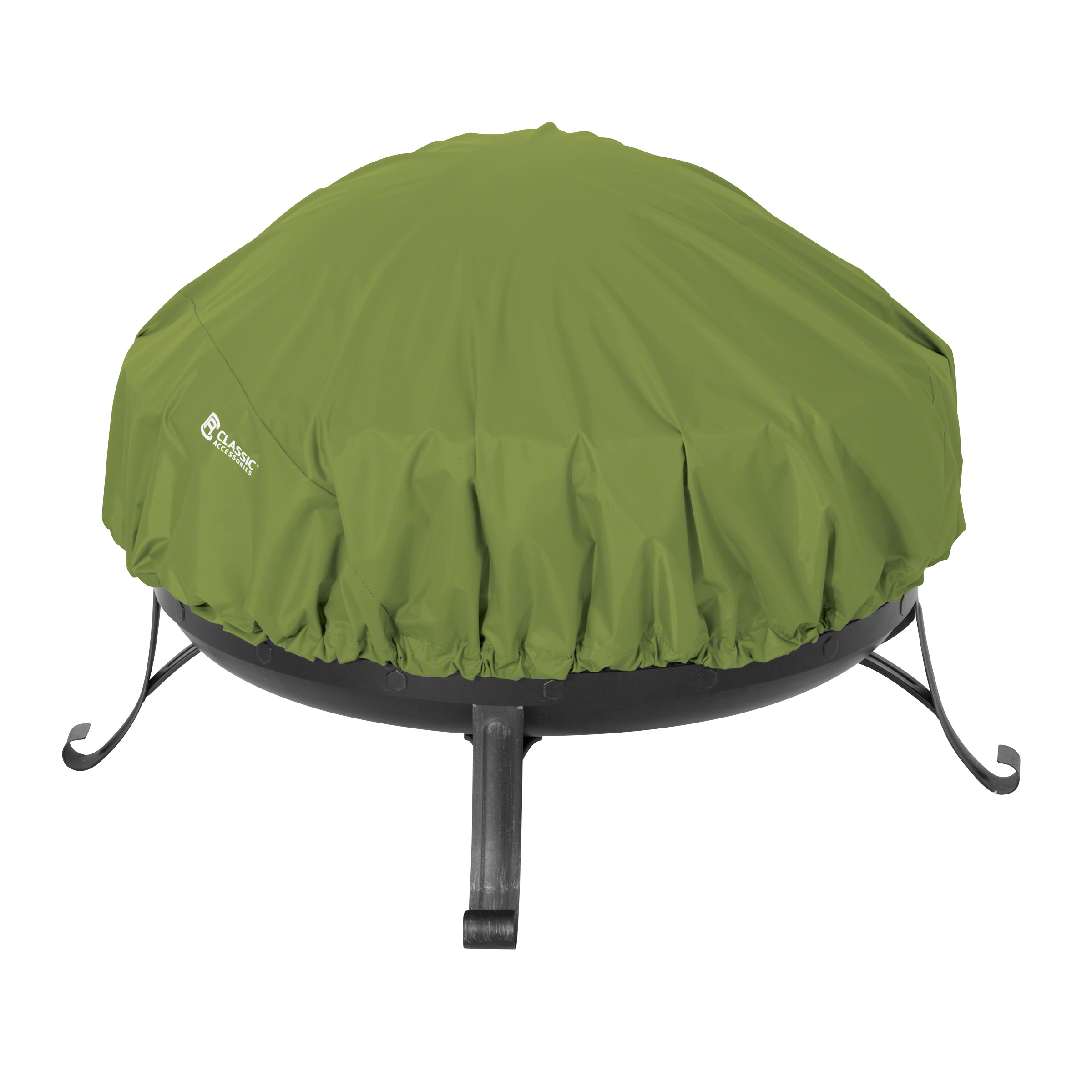 Classic Accessories Sodo™ Round Fire Pit Cover - Tough and Weather Resistant Patio Cover (55-3945-031901-EC)