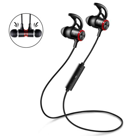 Magnetic Absorbing Bluetooth V4.1 Wireless Aluminum Alloy