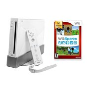 Wii Console White - Wii Sports Bundle (Refurbished)
