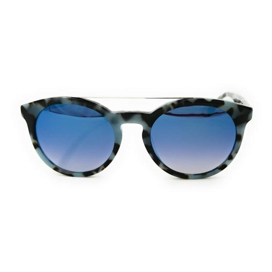 924453a6905a Lacoste - LACOSTE Sunglasses L821S 215 Azure Havana Oval Unisex ...