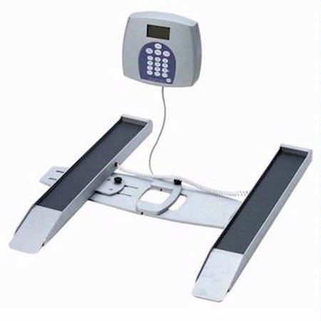 Health O Meter 2400KL Portable Digital Wheelchair Scale 800 lb x 0 2 lb