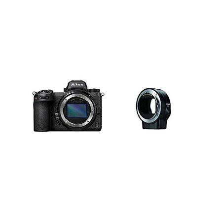 Nikon Z 7II FX-Format Mirrorless Camera Body with Nikon Mount Adapter FTZ (Internationam Model)