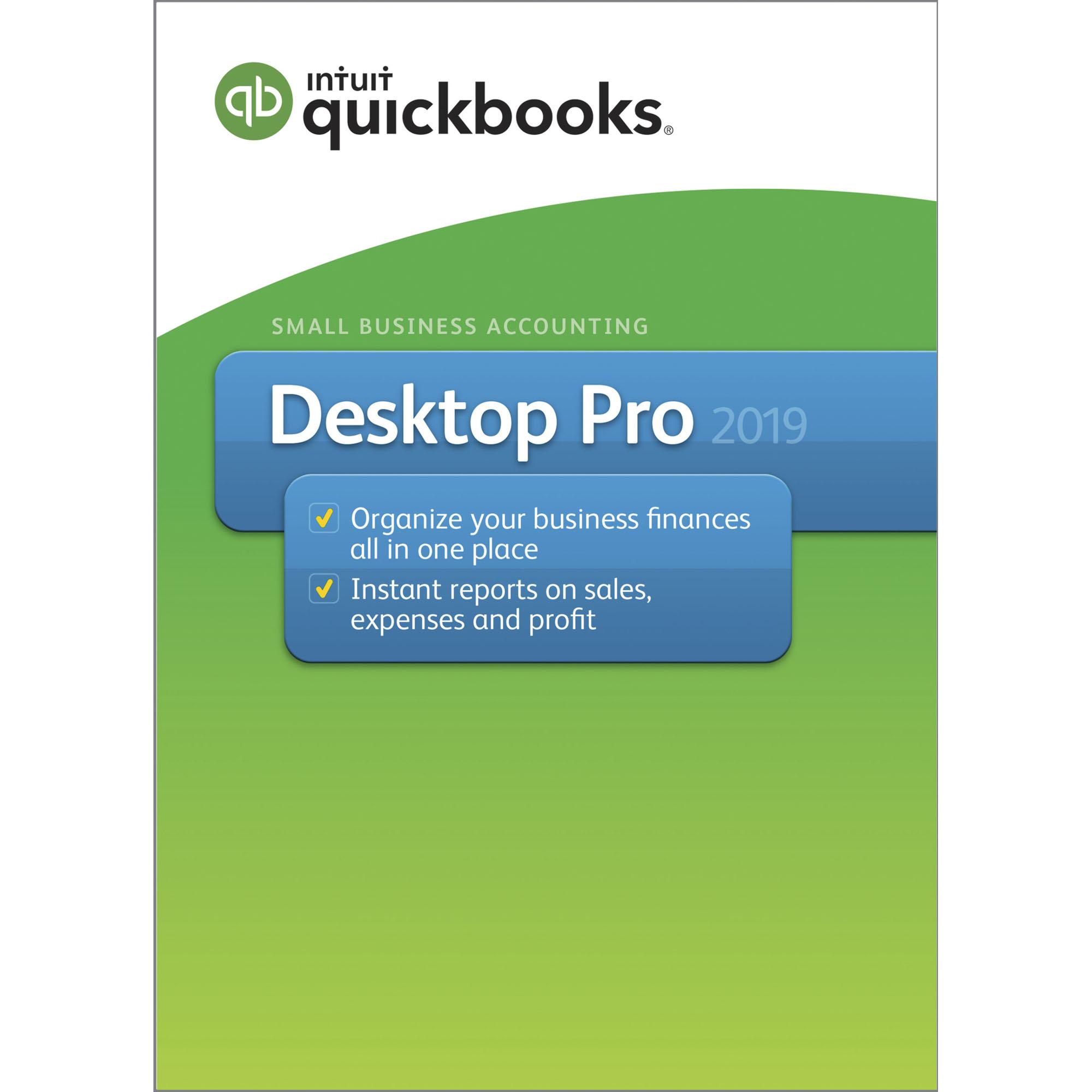 Intuit QuickBooks Desktop Pro 2019 (Email Delivery)