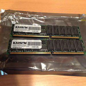 IBM 73P2267 ECC-Registered-Module-PC2700-DDR333MHz-IBM-73P2267-73P2272-KTM2266-1G by IBM