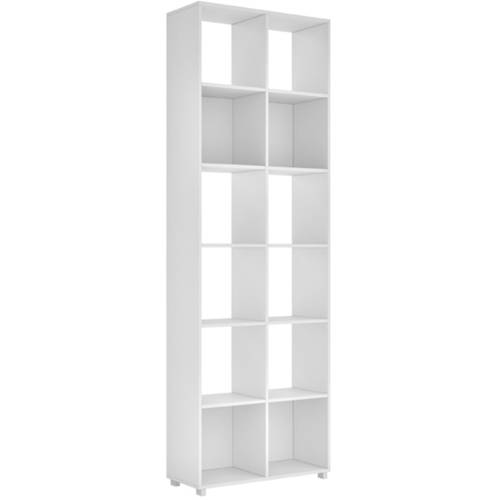 Image of Manhattan Comfort Accentuations 12-Shelf Natal 1.0 Bookcase