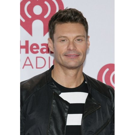 Ryan Seacrest In Attendance For 2014 Iheartradio Music Festival   Fri Part 2 Mgm Grand Garden Arena Las Vegas Nv September 19 2014 Photo By James Atoaeverett Collection Photo Print
