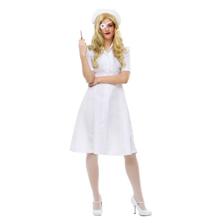 Plus Size Elle Driver Nurse Costume (Plus Size Nurse Costume)