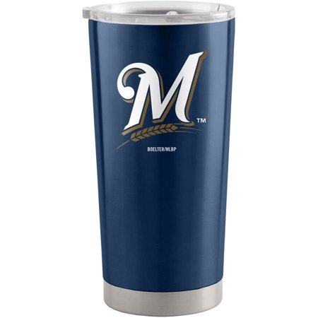 Boelter Brands 20 oz Milwaukee Brewers Colored Ultra (Boelter Milwaukee Brewers Glass)