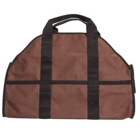 Clearance! Large Firewood Log Carrier, Durable Canvas Tote Bag for Carrying Wood - Simple, Easy use, Brown