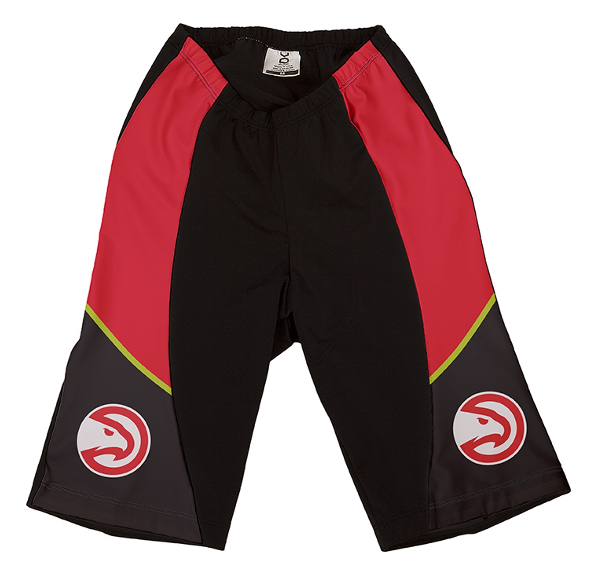 VOmax Womens Comfortable NBA Atlanta Hawks Cycling Shorts (M Fitted Team Colors)