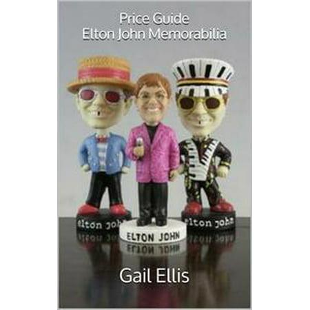 Price Guide Elton John Memorabilia - (Nick Price Memorabilia)
