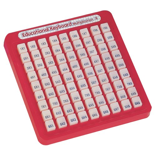 Small World Toys Math Keyboards Multiplication Numbers