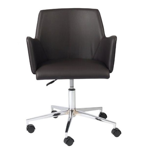 Euro Style Sunny Office Chair - Brown