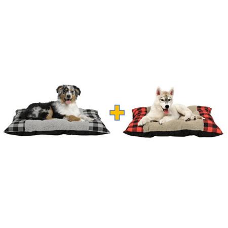 Holiday Time Medium Tufted Plush Dog Beds (Tufted Dog Cushion)