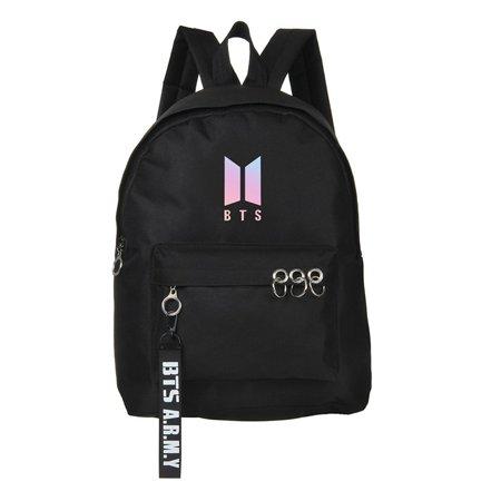 Fancyleo BTS Bangtan Boys Canvas Bags V Suga Jimin Backpack School