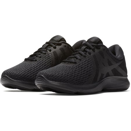 Nike Women s Revolution 4 Running Shoes Black Black 11 - Walmart.com b05bfa9f95