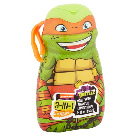 Best Teenage Mutant Ninja Turtles - TMNT - 3 in 1 Body Wash , Shampoo, Conditioner (color and style may vary) deal