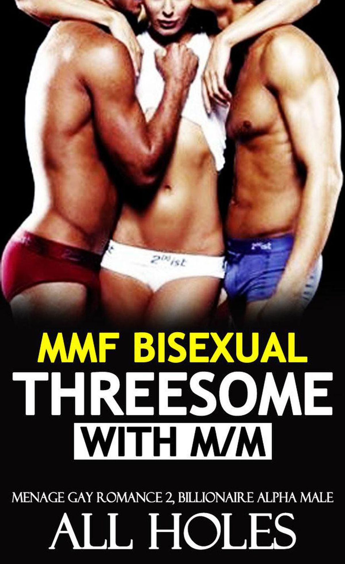 Threesome at the Gym (Gay Erotic Ménage M/M/M) *Adult Content*