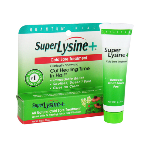 Quantum Health Super Lysine Plus Cold Sore Treatment - 0.75 Oz