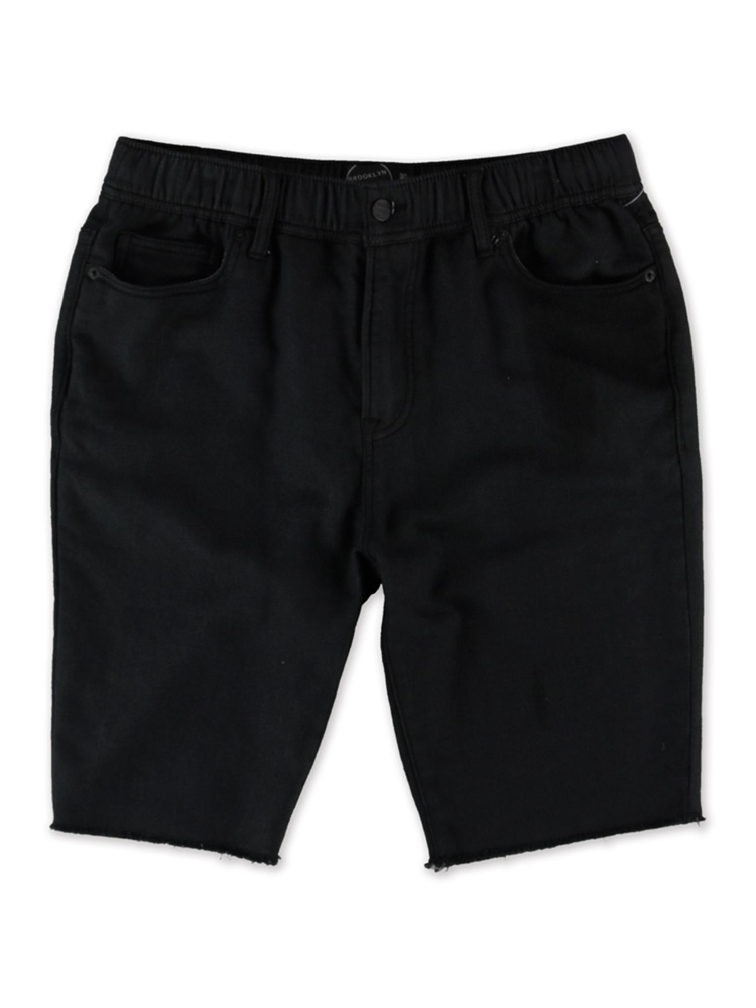 Aeropostale Mens Washed Jogger Casual Denim Shorts