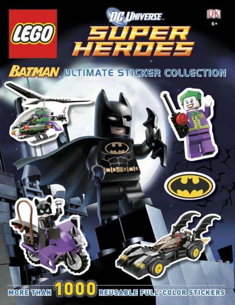 DC Universe Super Heroes Lego Batman Ultimate Sticker Collection by Dk Pub